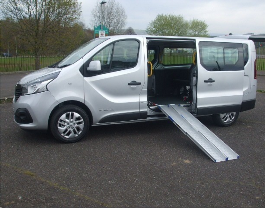 vauhall-vivaro-wheelchair-access